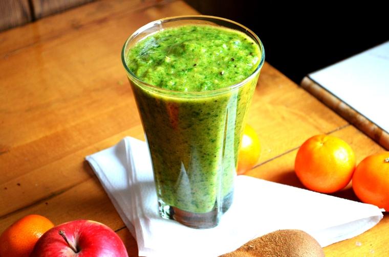 zielony koktajl :)