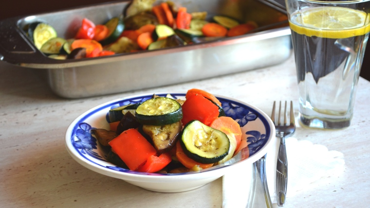 warzywa iście po królewsku :)